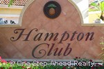 sign for Hampton Club