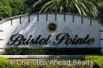 Bristol Pointe community sign